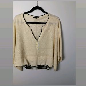 Nanette Lepore silk/cotton oversize top